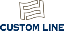 Custom line logo